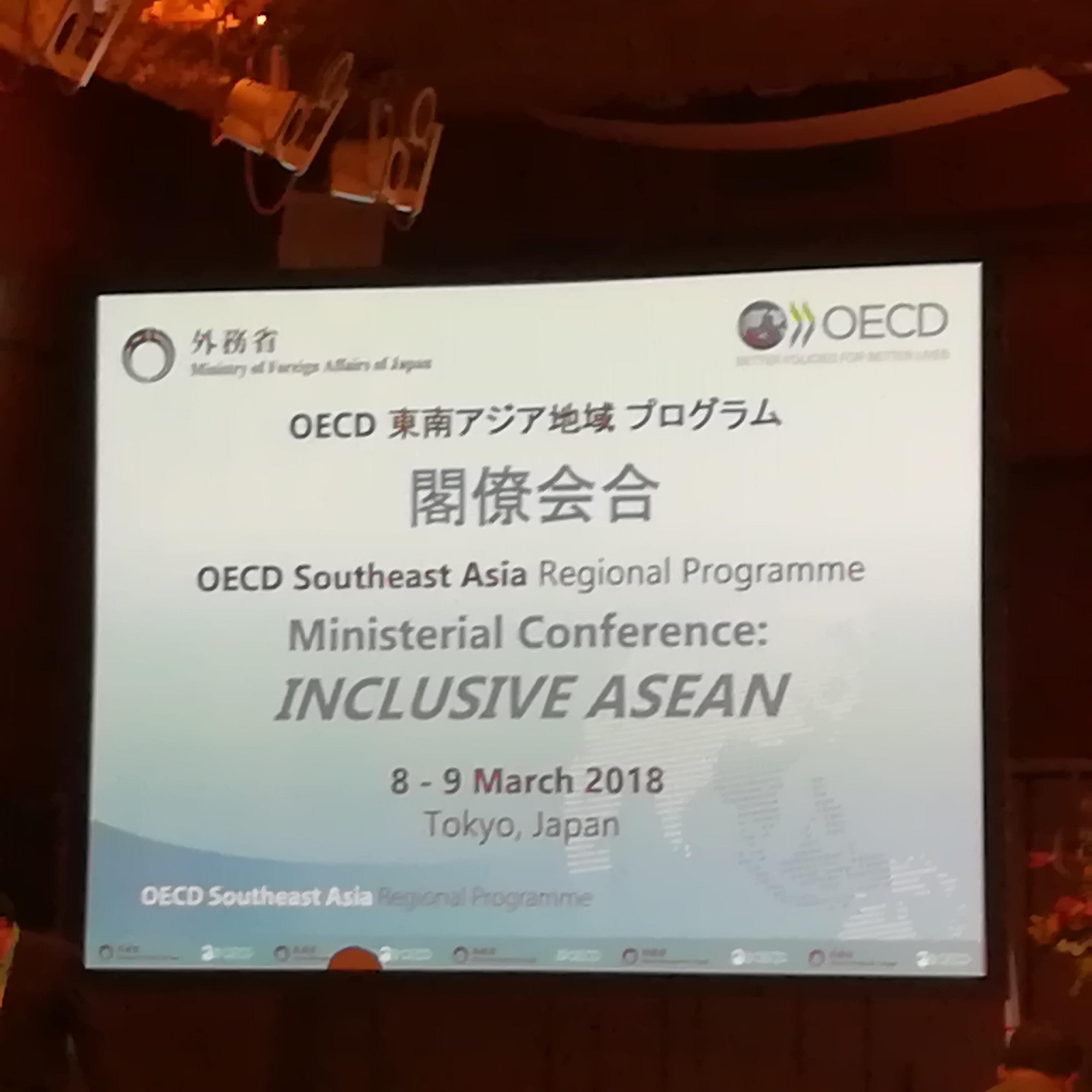OECD東南アジア地域プログラム閣僚会合