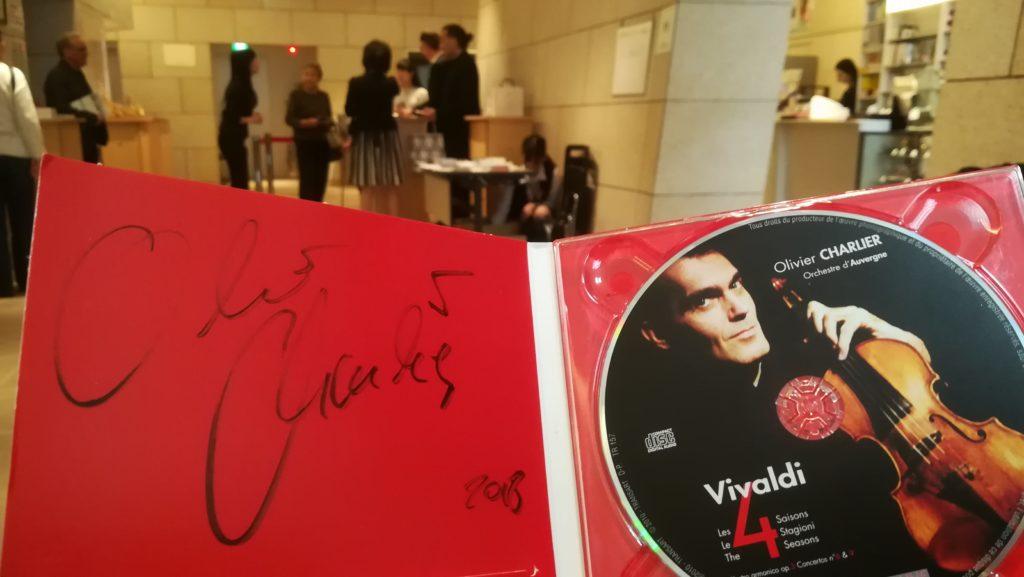 オリヴィエ・シャルリエ&エマニュエル・シュトロッセ CD Vivaldi