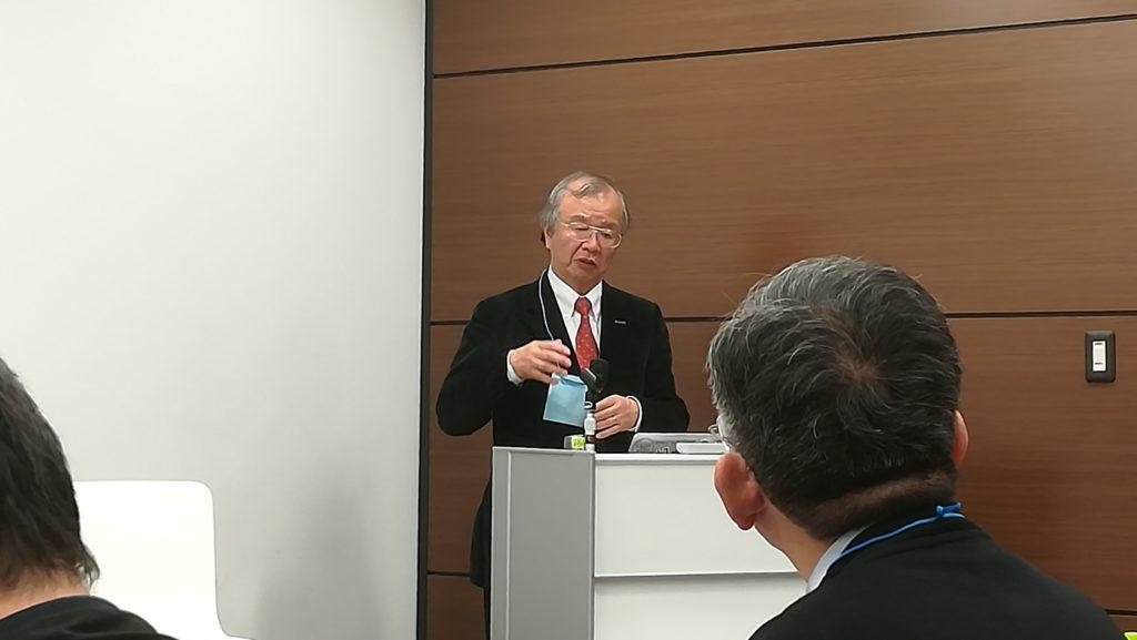 国土強靱化レジリ学園関西校キックオフ: 基調講演される 河田恵昭 関西大学 特任教授