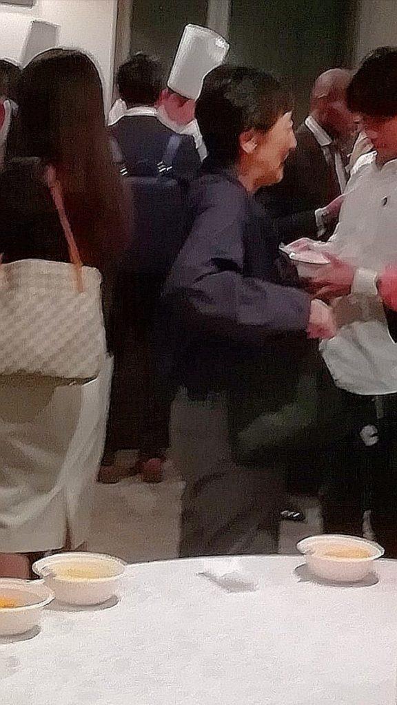 国谷裕子氏(元NHKクローズアップ現代キャスター・現在、国連FAO親善大使)
