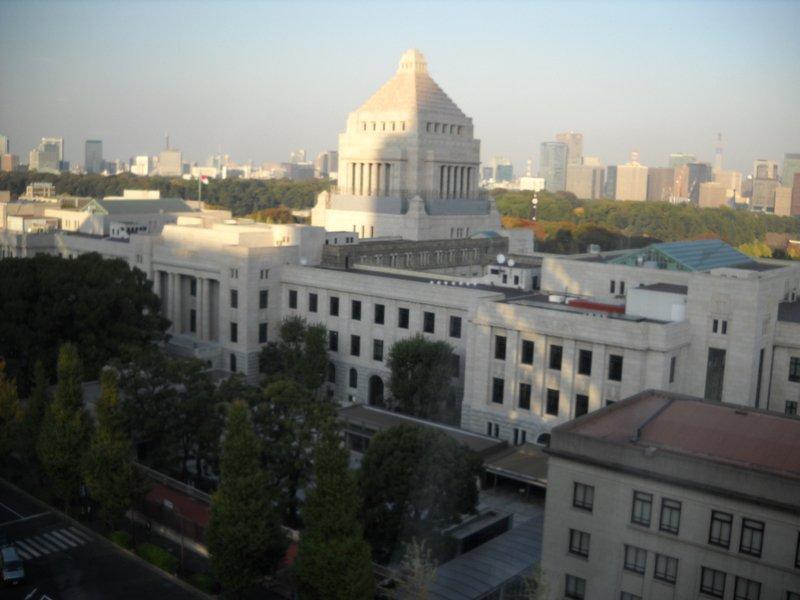 日本の国会議事堂