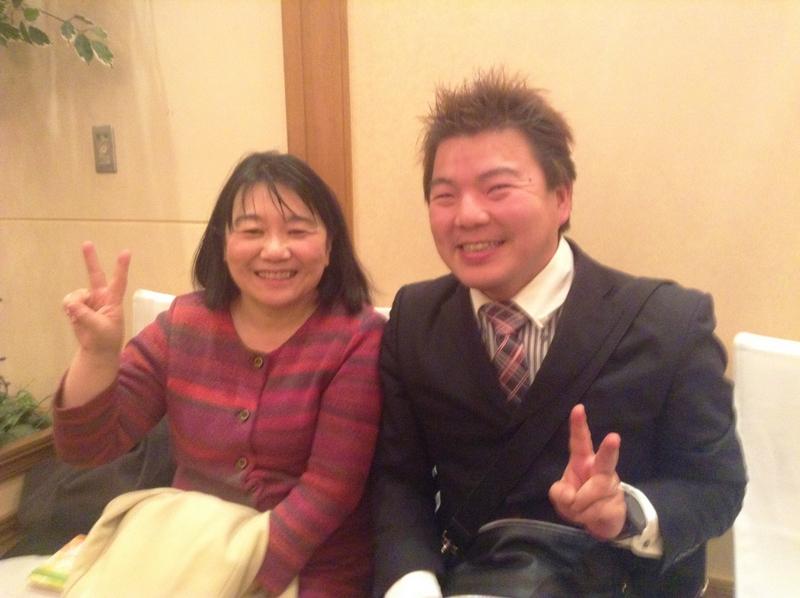 大村秀章県知事夫人とともに 榊原平