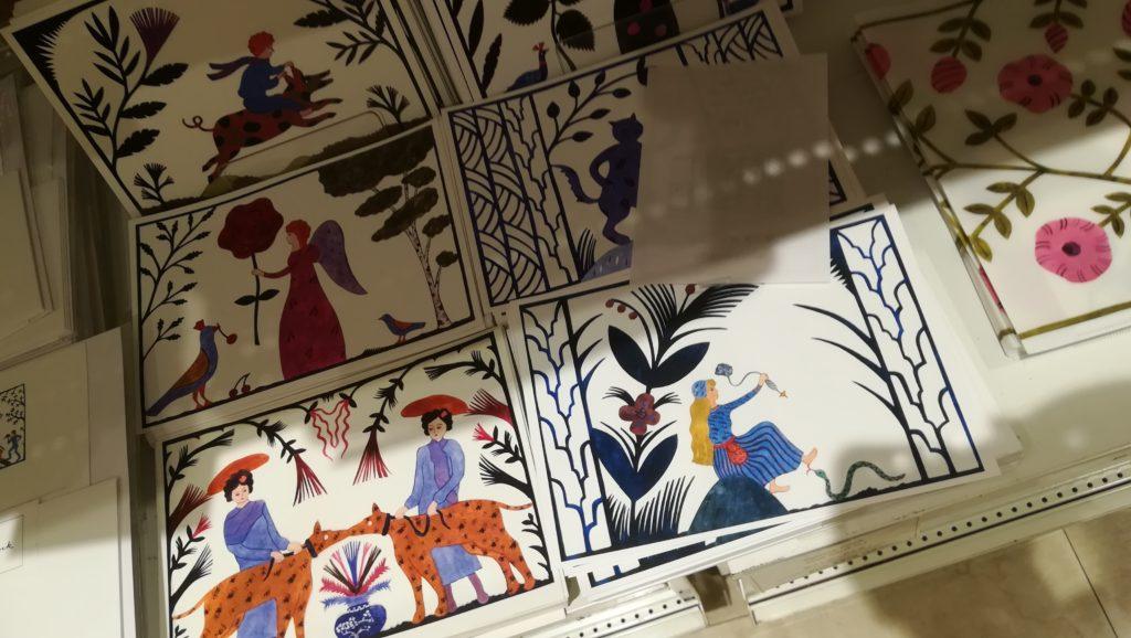 アグネータ・フロック:スウェーデンの切り絵作家
