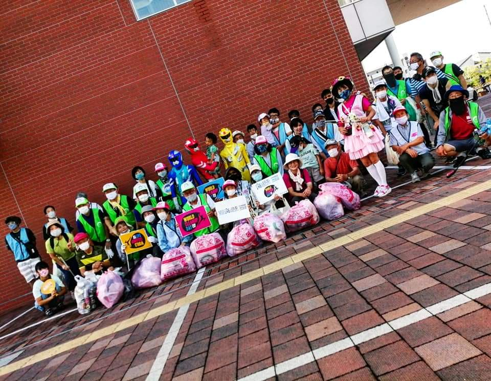 World Cleanup Day 2020  ABK「ごみ拾いは地球を救う」 ワールドクリーンアップデー 2020♡ABK
