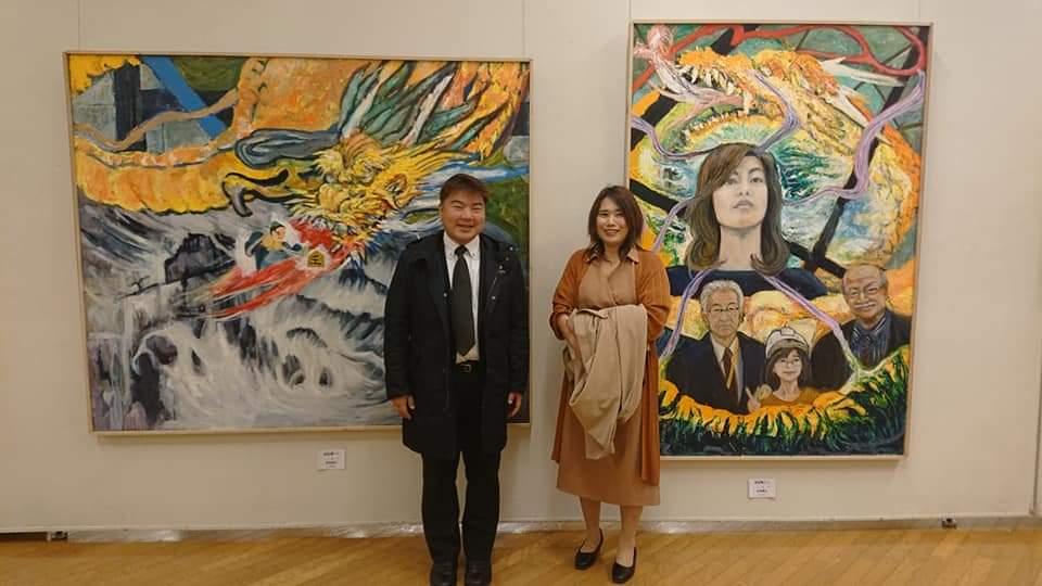 独立展 三重県文化会館へ