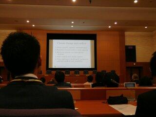 【 外務省 気候変動と脆弱性 安全保障専門家会合円卓セミナー】