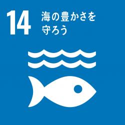 sdg icon 14 海の豊かさを守ろう