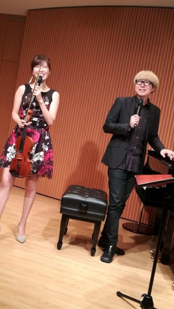 薔薇のドレスがとても素敵 vn 水野紗希 さん
