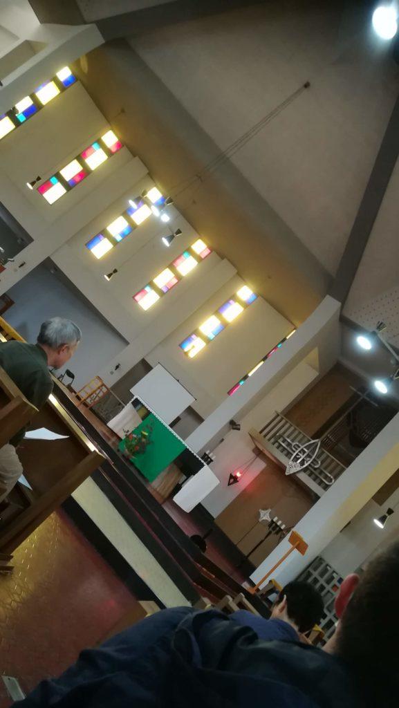 カトリック五反城教会 パイプオルガン