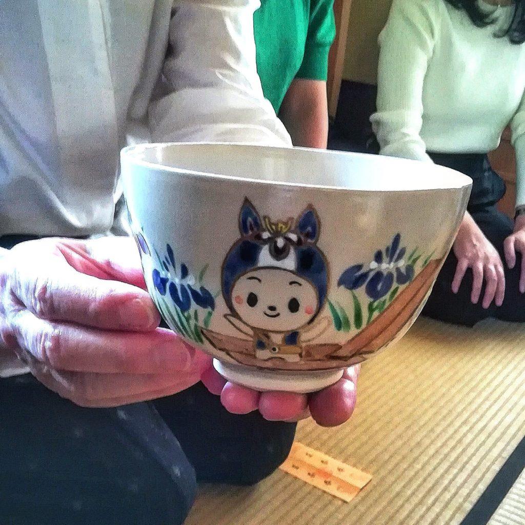 ちりゅっぴ の茶碗