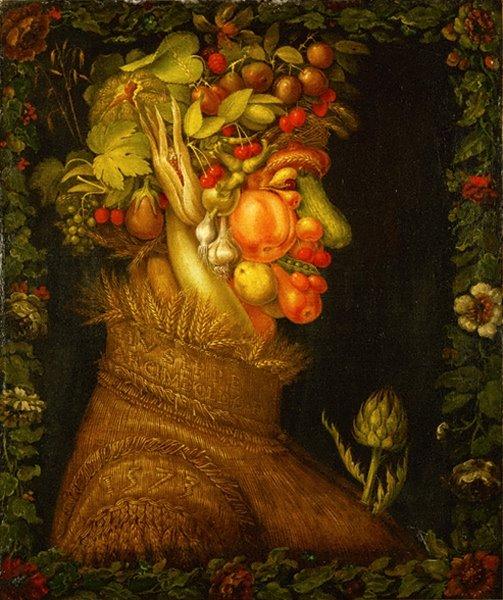 巨匠の絵画にみる「四季」アルティンボルト 16日