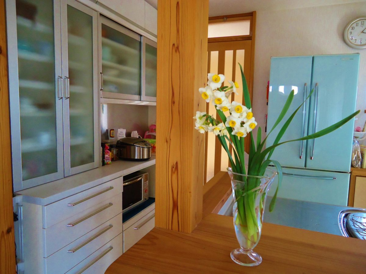 3月 キッチンに水仙の甘い香り